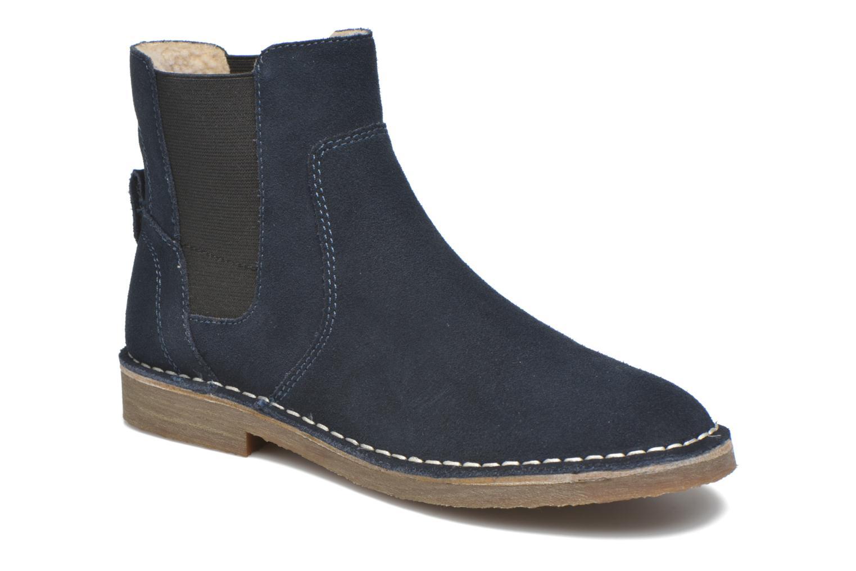 Ankle boots Esprit Koa TG Bootie Blue detailed view/ Pair view