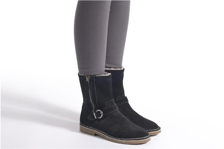 Bottines et boots Esprit Koa Buckle Marron vue bas / vue portée sac
