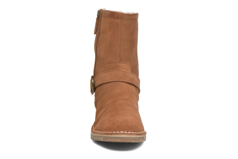 Bottines et boots Esprit Koa Buckle Marron vue portées chaussures