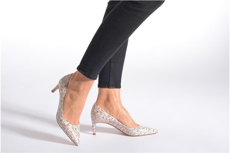 High heels L.K. Bennett Florida Black view from underneath / model view