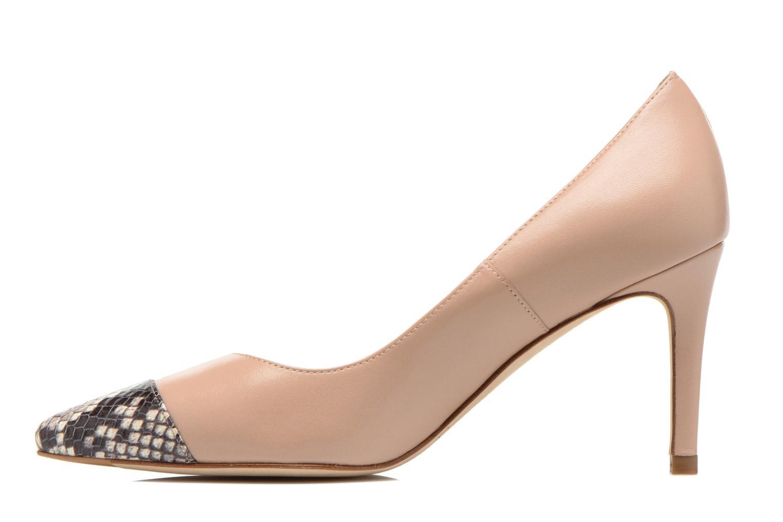 Zapatos de tacón L.K. Bennett Kay Beige vista de frente