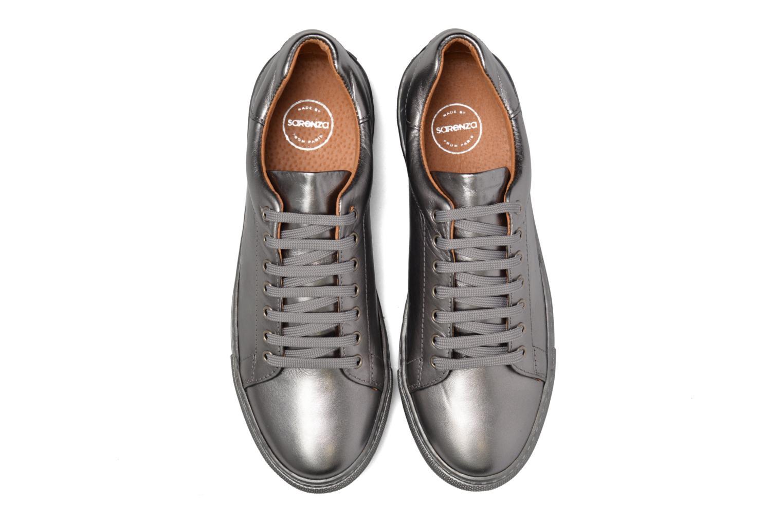 Sneakers Made by SARENZA Sugar Shoegar #8 Argento modello indossato