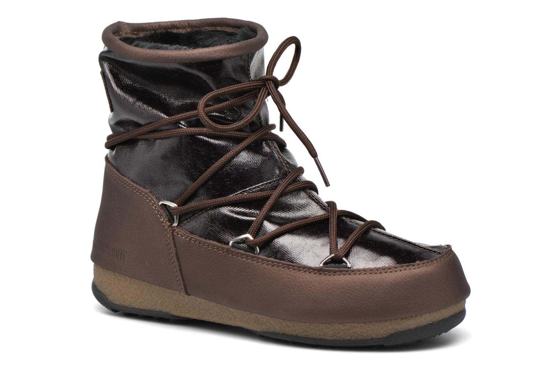 Grandes descuentos últimos zapatos Moon Boot Low Glitter (Marrón) - Zapatillas de deporte Descuento