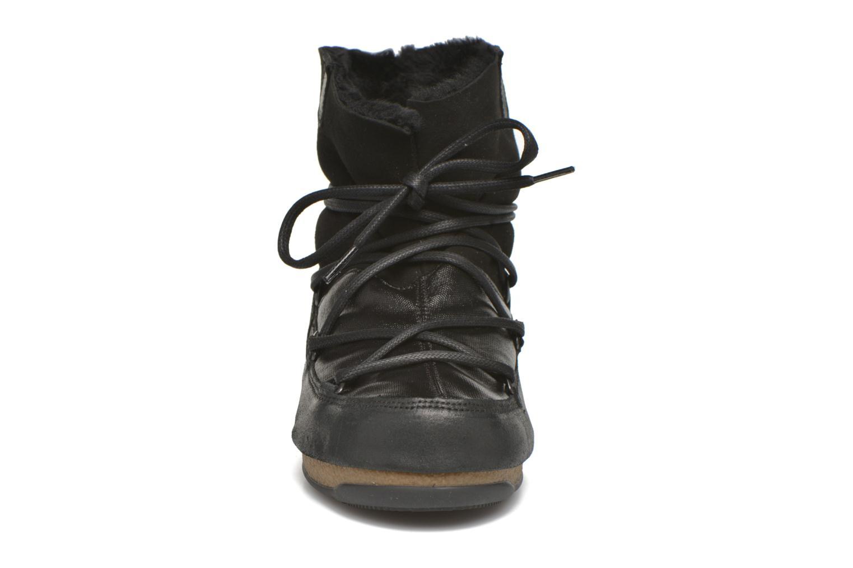 Chaussures de sport Moon Boot Low Mix Noir vue portées chaussures