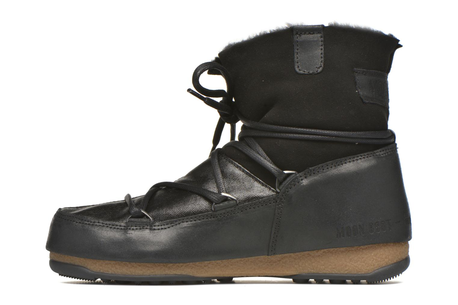 Sport shoes Moon Boot We Low Mix Black front view