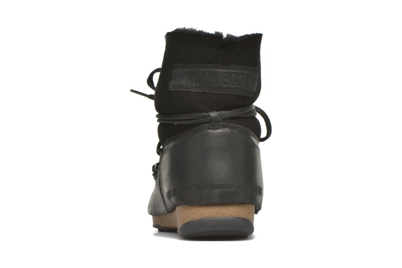 Zapatillas de deporte Moon Boot Low Mix Negro vista lateral derecha