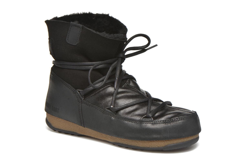 Chaussures de sport Moon Boot Low Mix Noir vue détail/paire