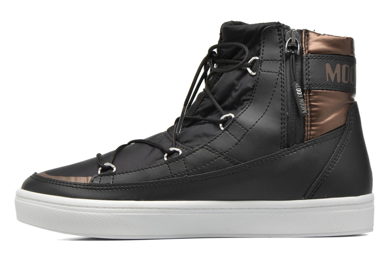 Zapatillas de deporte Moon Boot Vega Negro vista de frente