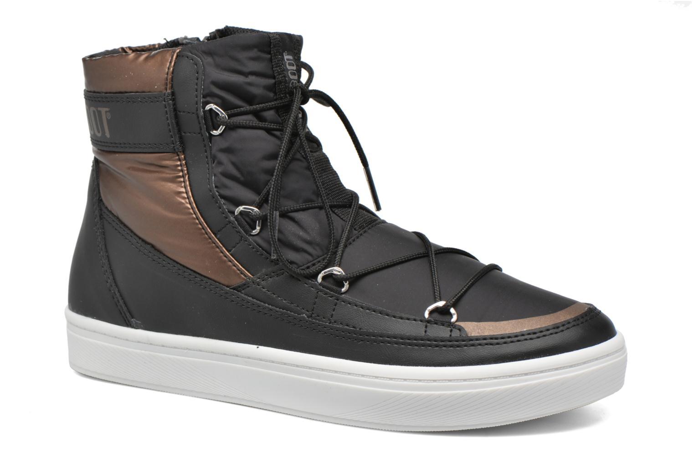 Chaussures de sport Moon Boot Vega Noir vue détail/paire