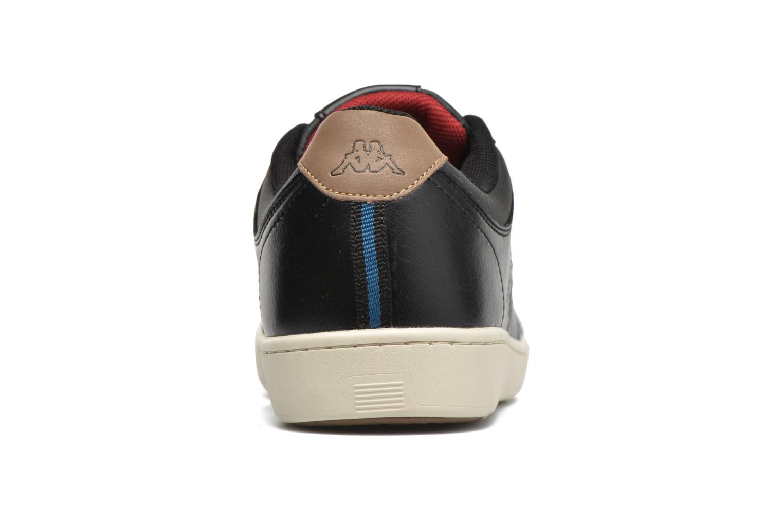 Sneaker Kappa Garyn schwarz ansicht von rechts