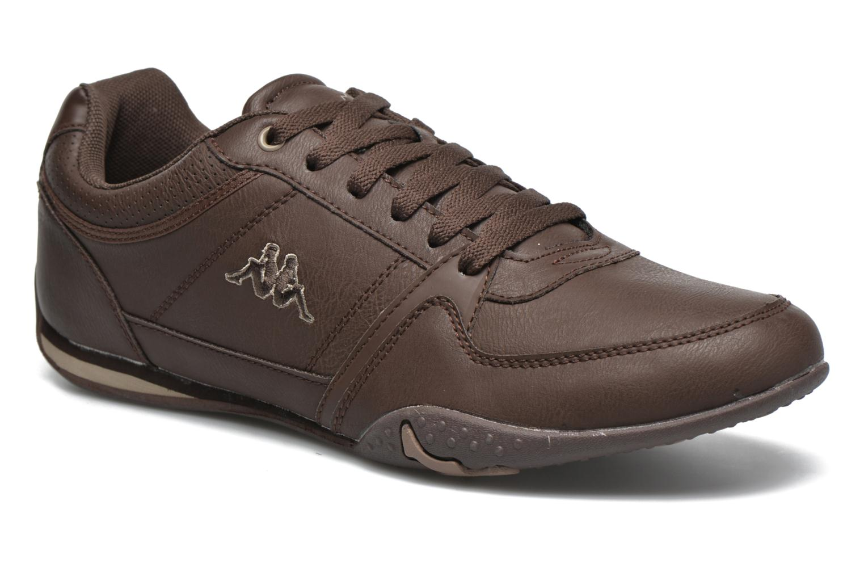 Sneakers Kappa Manille Bruin detail