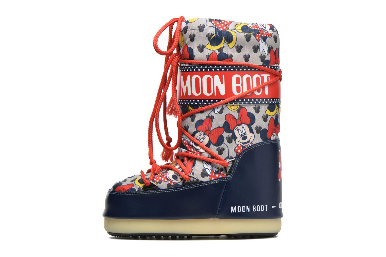 Stiefel Moon Boot Moon Boot Pod Jr Minnie mehrfarbig ansicht von vorne