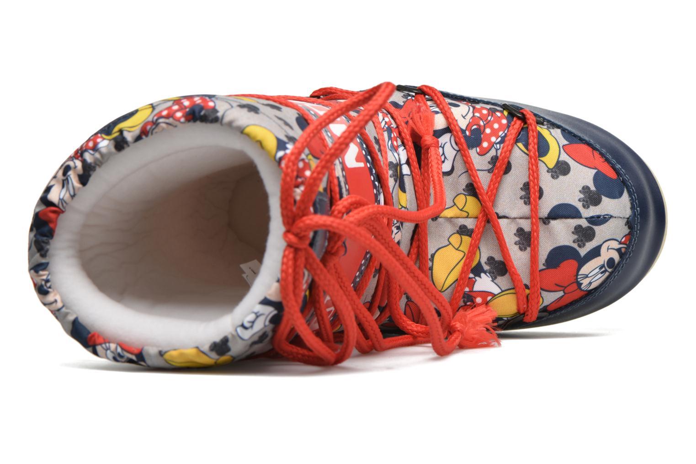 Stiefel Moon Boot Moon Boot Pod Jr Minnie mehrfarbig ansicht von links