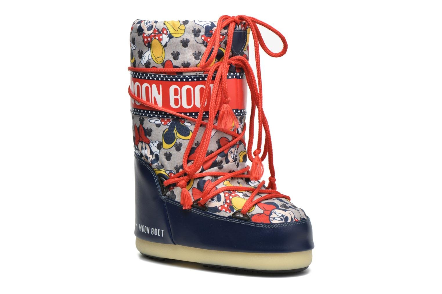 Moon Boot Pod Jr Minnie Blue/red