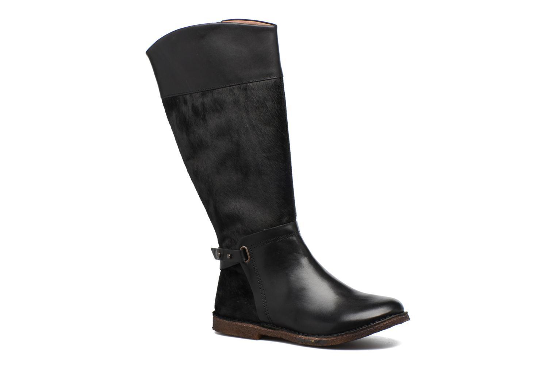 Støvler & gummistøvler Kickers Crick Sort detaljeret billede af skoene