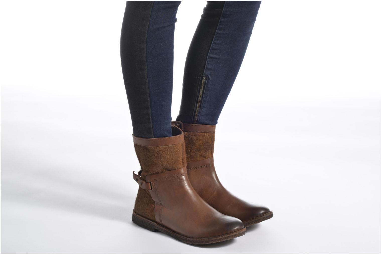 Bottines et boots Kickers Cricket Noir vue bas / vue portée sac