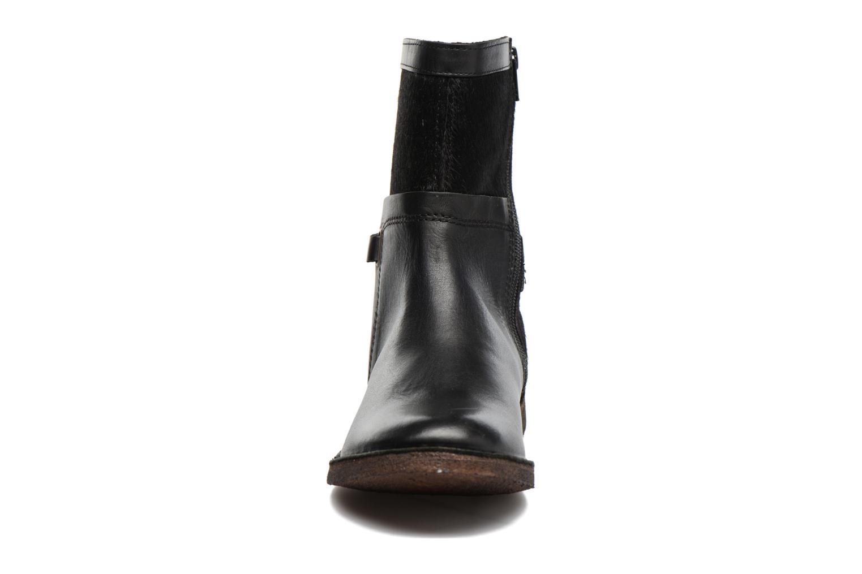Bottines et boots Kickers Cricket Noir vue portées chaussures