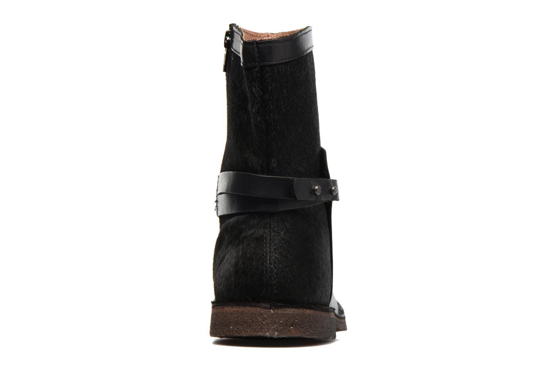 Bottines et boots Kickers Cricket Noir vue droite