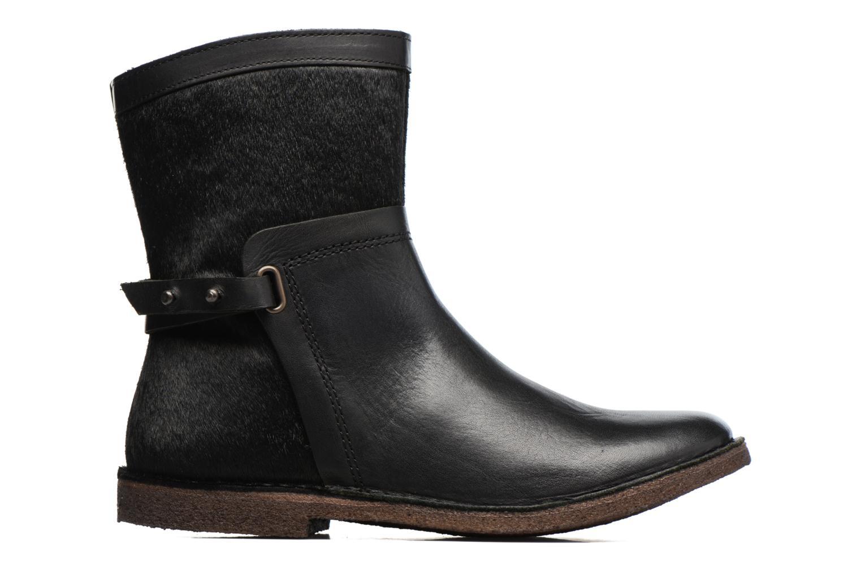 Bottines et boots Kickers Cricket Noir vue derrière
