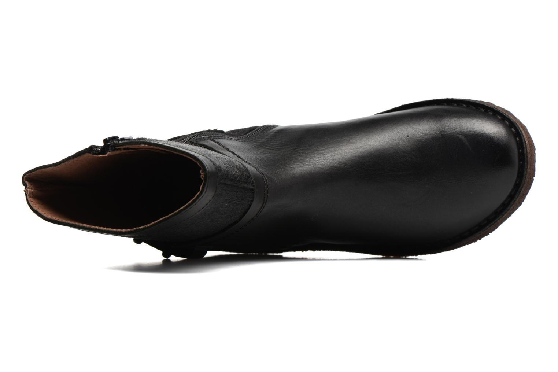 Bottines et boots Kickers Cricket Noir vue gauche