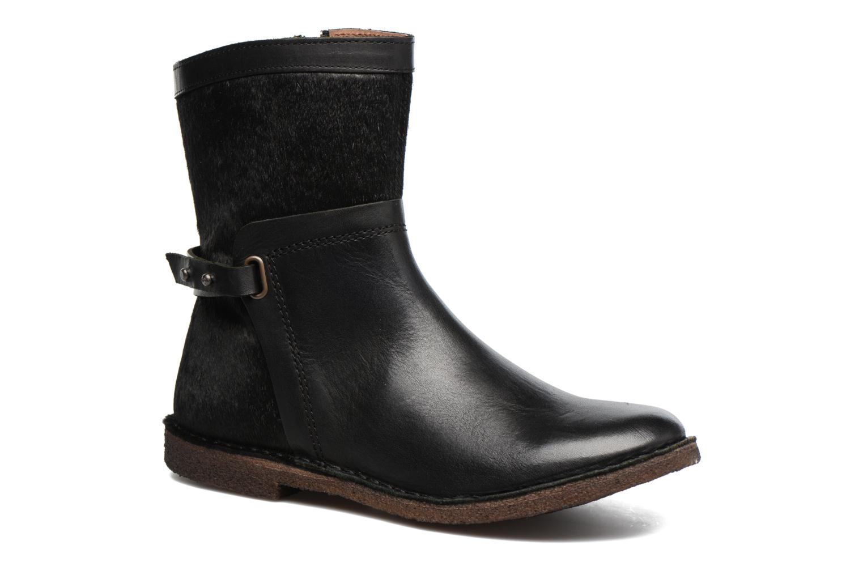 Bottines et boots Kickers Cricket Noir vue détail/paire
