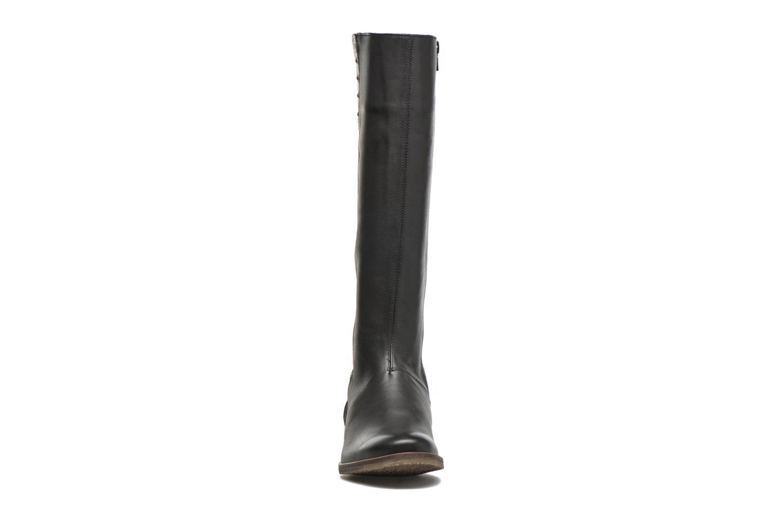 Bottines et boots Kickers Longbotte Noir vue portées chaussures