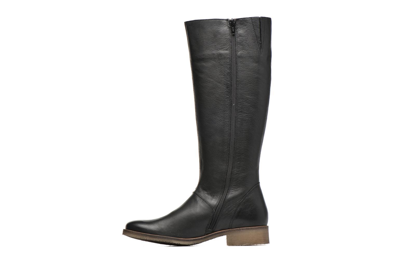 Bottines et boots Kickers Longbotte Noir vue face