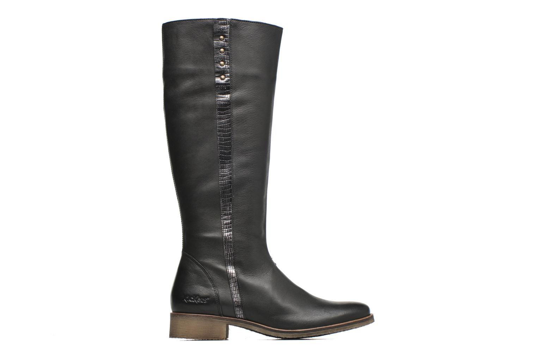 Bottines et boots Kickers Longbotte Noir vue derrière