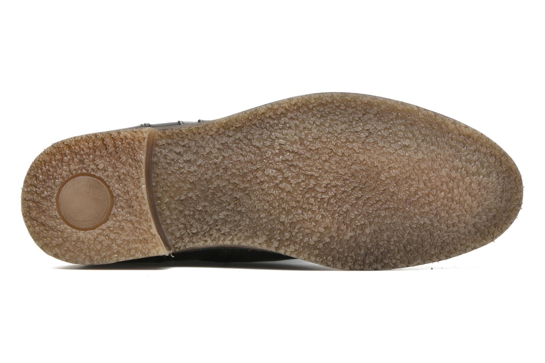 Bottines et boots Kickers Longbotte Noir vue haut