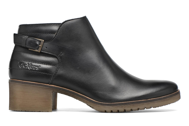 Stiefeletten & Boots Kickers Millcut schwarz ansicht von hinten