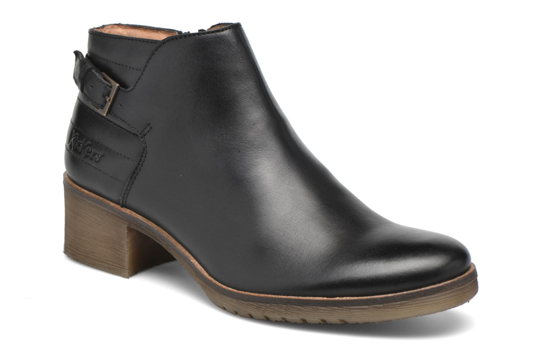 Stiefeletten & Boots Kickers Millcut schwarz detaillierte ansicht/modell