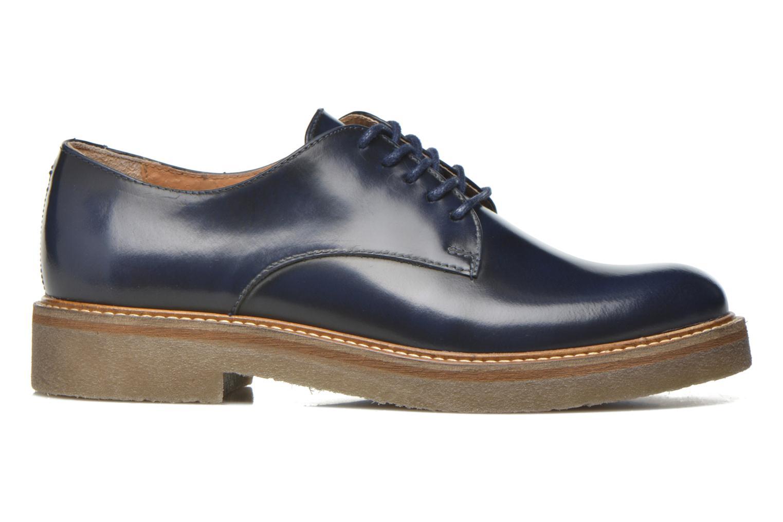 Zapatos con cordones Kickers Oxfork Azul vistra trasera