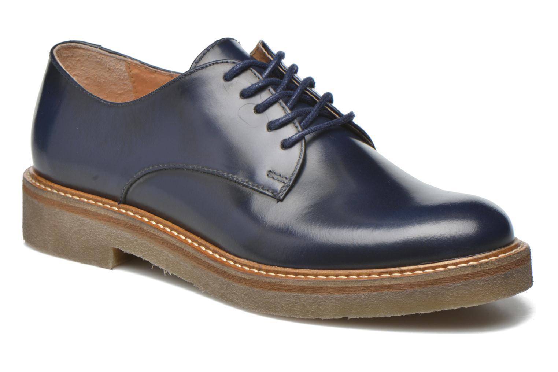 Chaussures à lacets Kickers Oxfork Bleu vue détail/paire