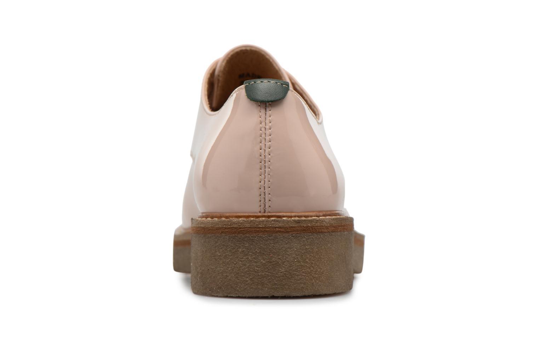 Chaussures à lacets Kickers Oxfork Beige vue droite