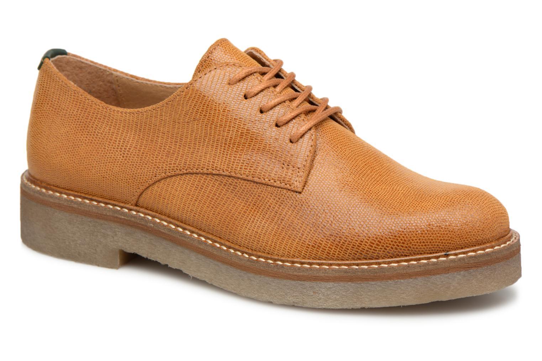 e81114474c3 Grandes descuentos últimos zapatos Kickers Oxfork (Amarillo) - Zapatos con  cordones Descuento