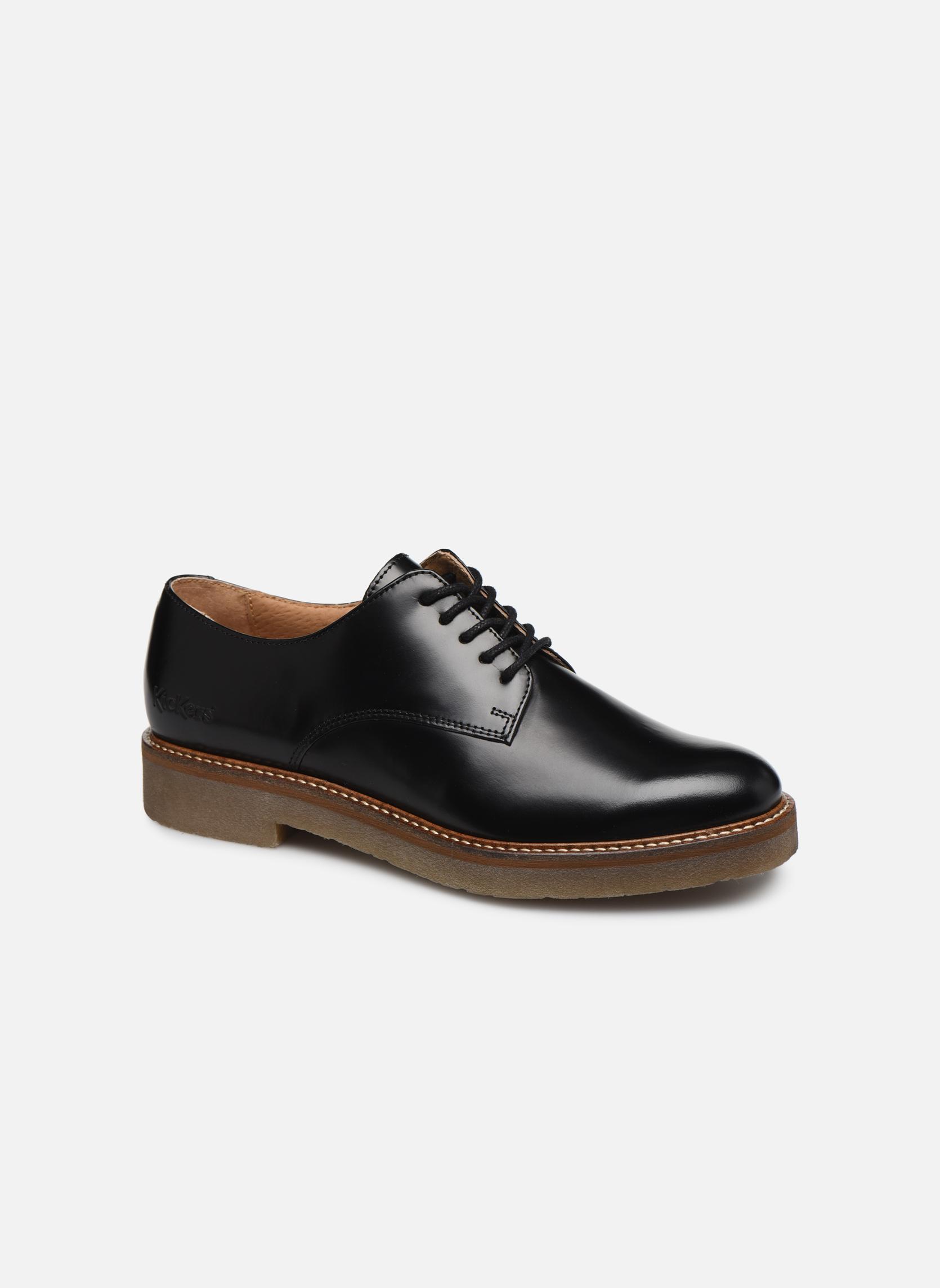 Grandes descuentos últimos zapatos Kickers Oxfork (Negro) - Zapatos con cordones Descuento