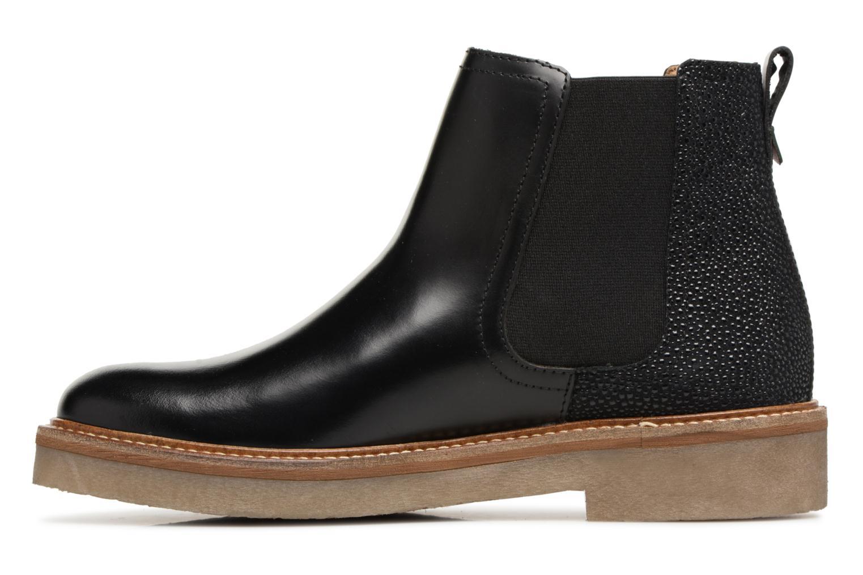 Bottines et boots Kickers Oxfordchic Noir vue face