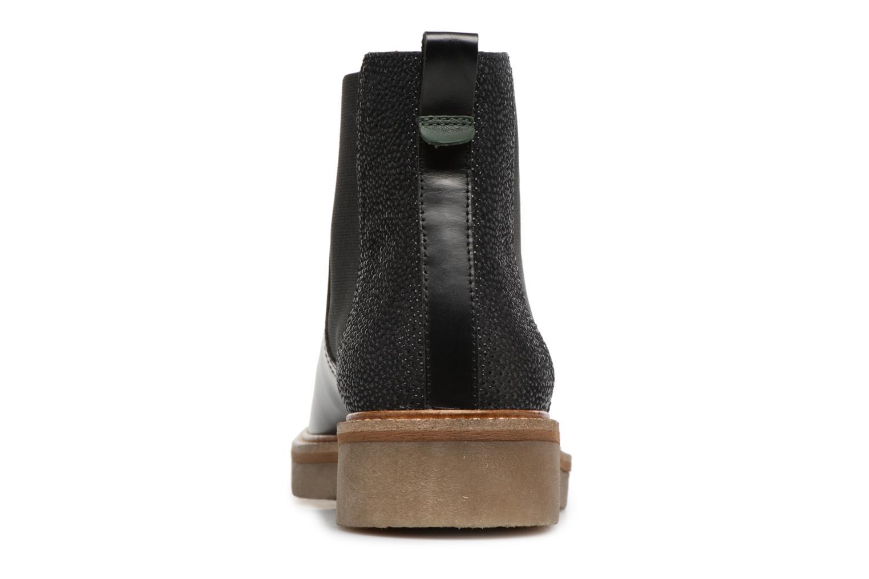 Bottines et boots Kickers Oxfordchic Noir vue droite