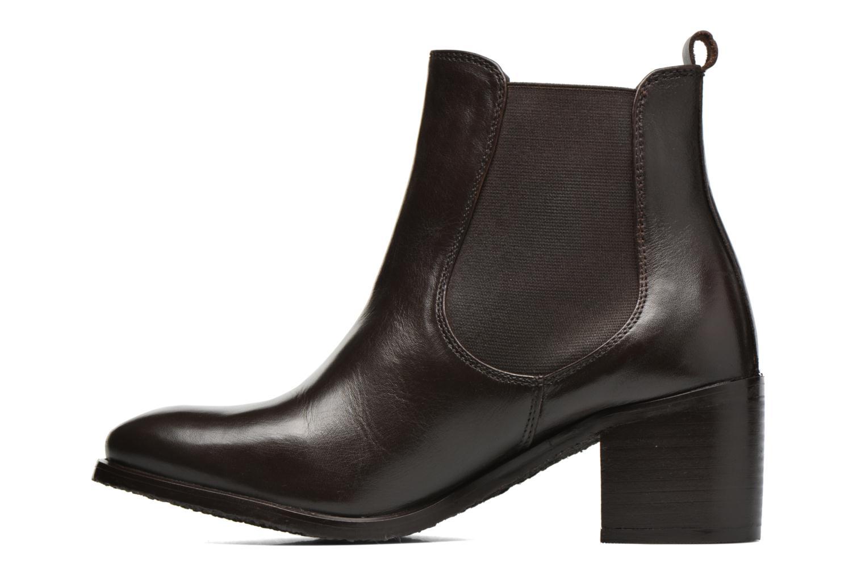 Bottines et boots Kickers Cathe Marron vue face