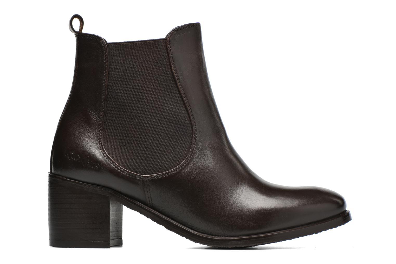 Bottines et boots Kickers Cathe Marron vue derrière