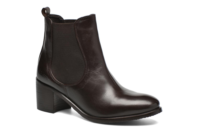 Bottines et boots Kickers Cathe Marron vue détail/paire