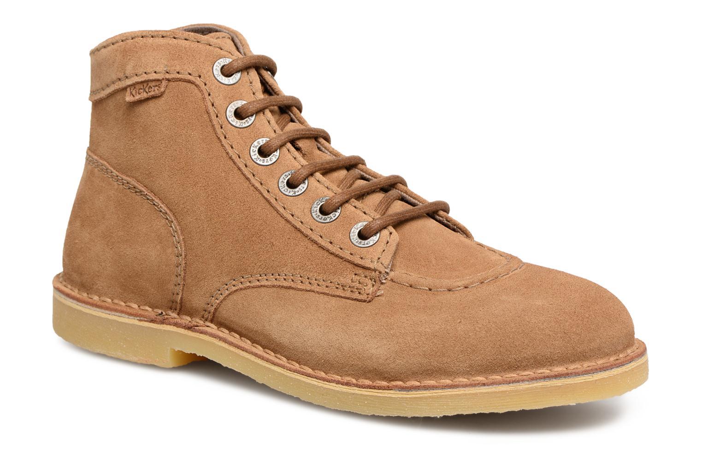 Zapatos promocionales Kickers Orilegend F (Marrón) - Zapatos con cordones   Casual salvaje