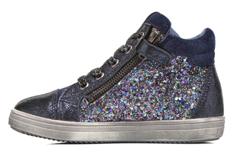 Sneaker Acebo's Anabella blau ansicht von vorne