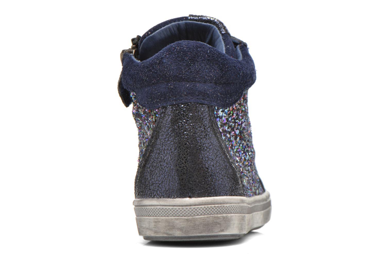 Sneaker Acebo's Anabella blau ansicht von rechts