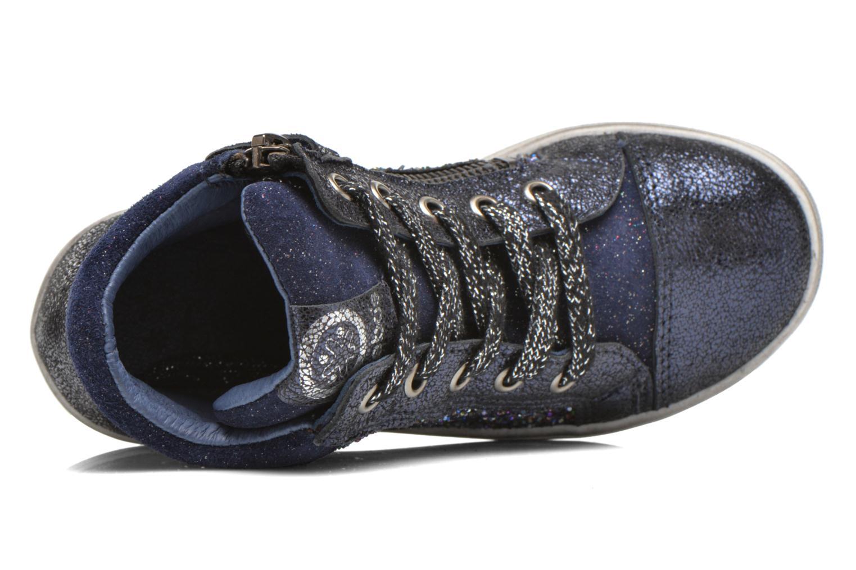 Sneaker Acebo's Anabella blau ansicht von links
