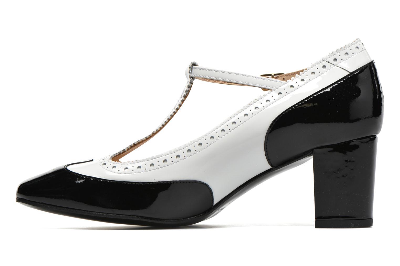 Zapatos de tacón Georgia Rose Soho Negro vista de frente