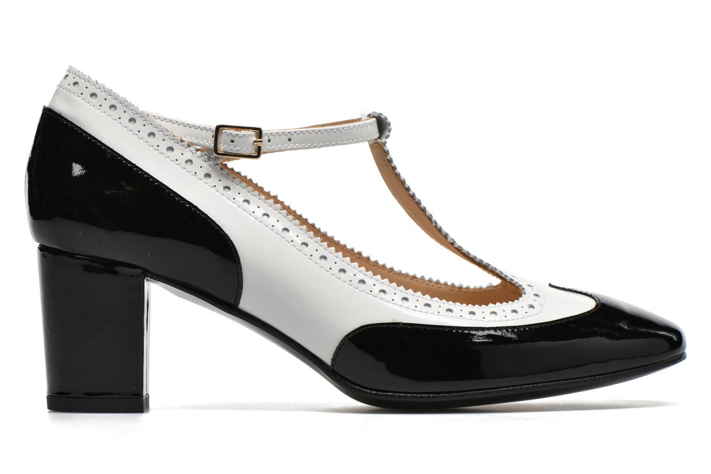Zapatos de tacón Georgia Rose Soho Negro vistra trasera