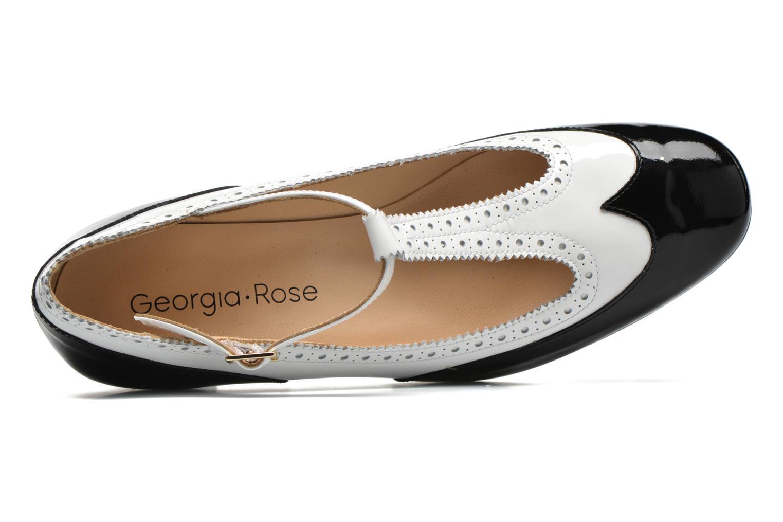 Zapatos de tacón Georgia Rose Soho Negro vista lateral izquierda