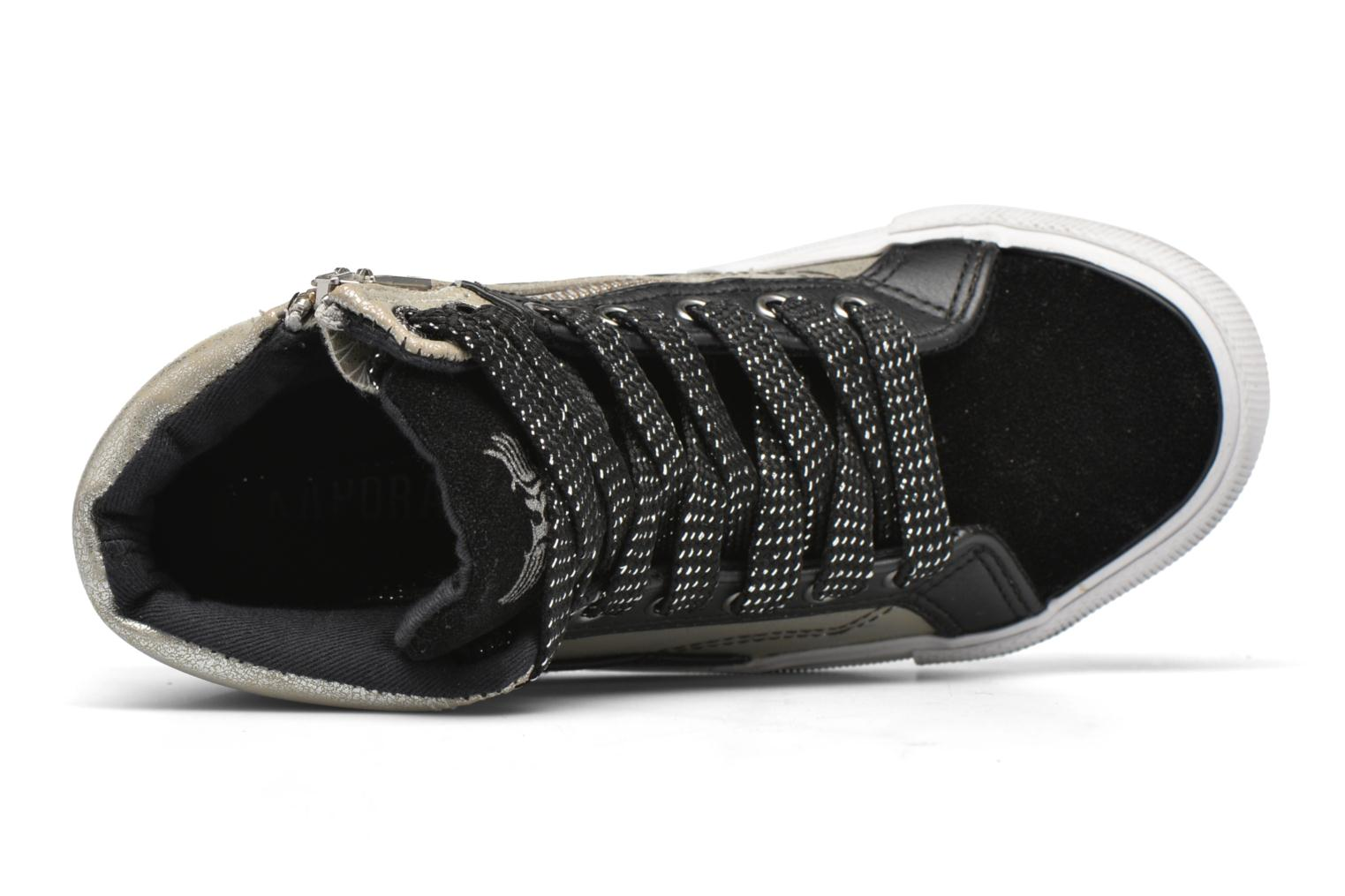 Sneakers Kaporal Amelony Nero immagine sinistra