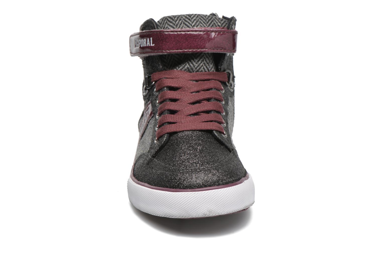 Sneaker Kaporal Mounty schwarz schuhe getragen